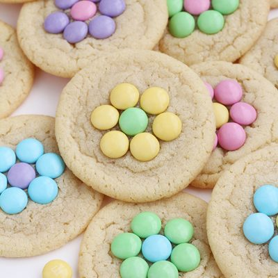 Candy Flower Sugar Cookies