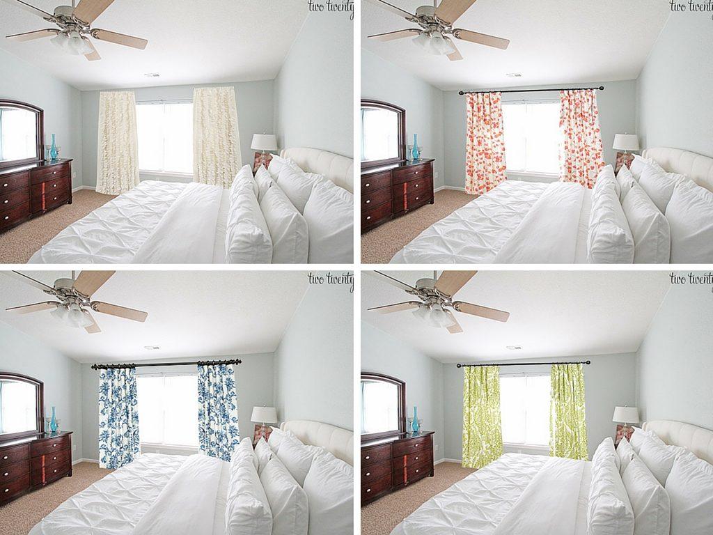 Master Bedroom Curtain Options