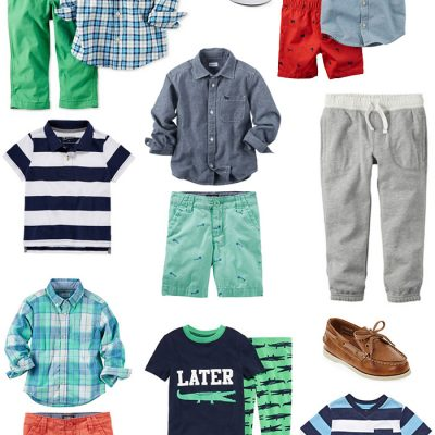 Toddler Boy Spring Fashions