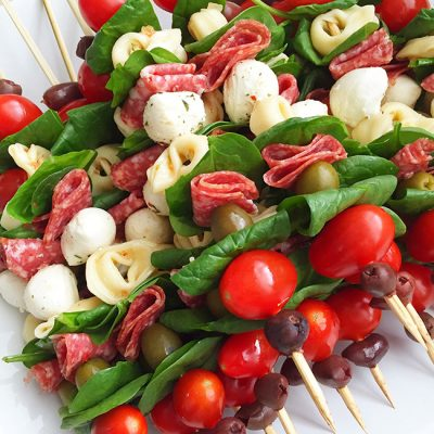 Antipasto Skewers – An Easy Appetizer