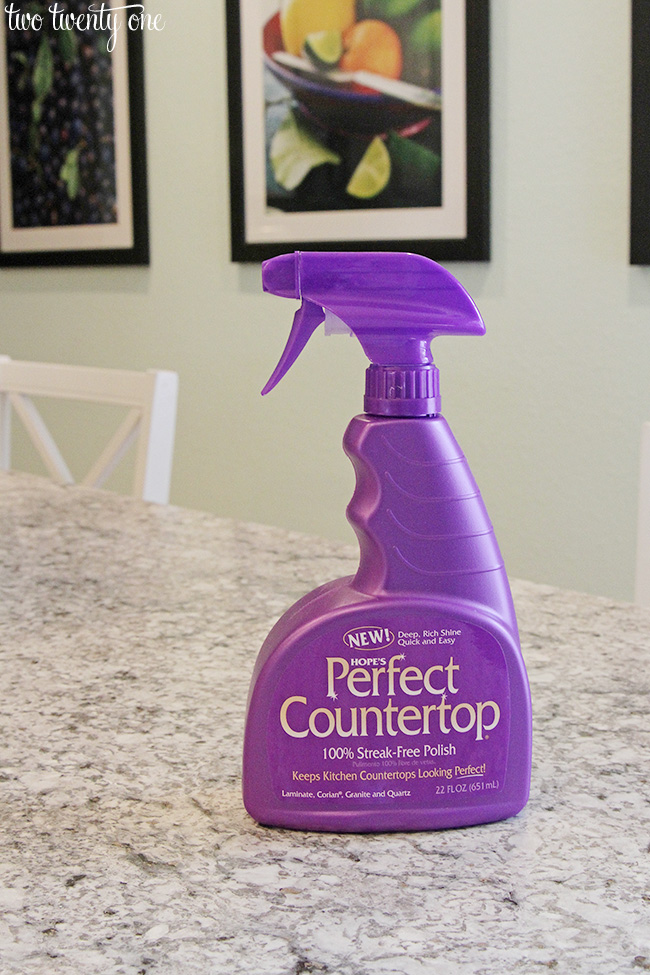 countertop spray
