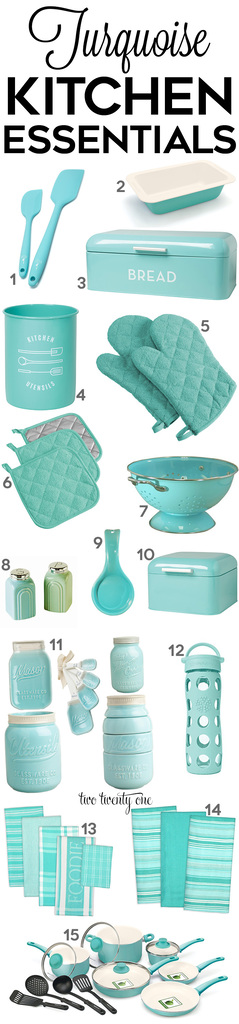 Awesome Turquoise Kitchen Decor And Gadgets! Amazing Pictures