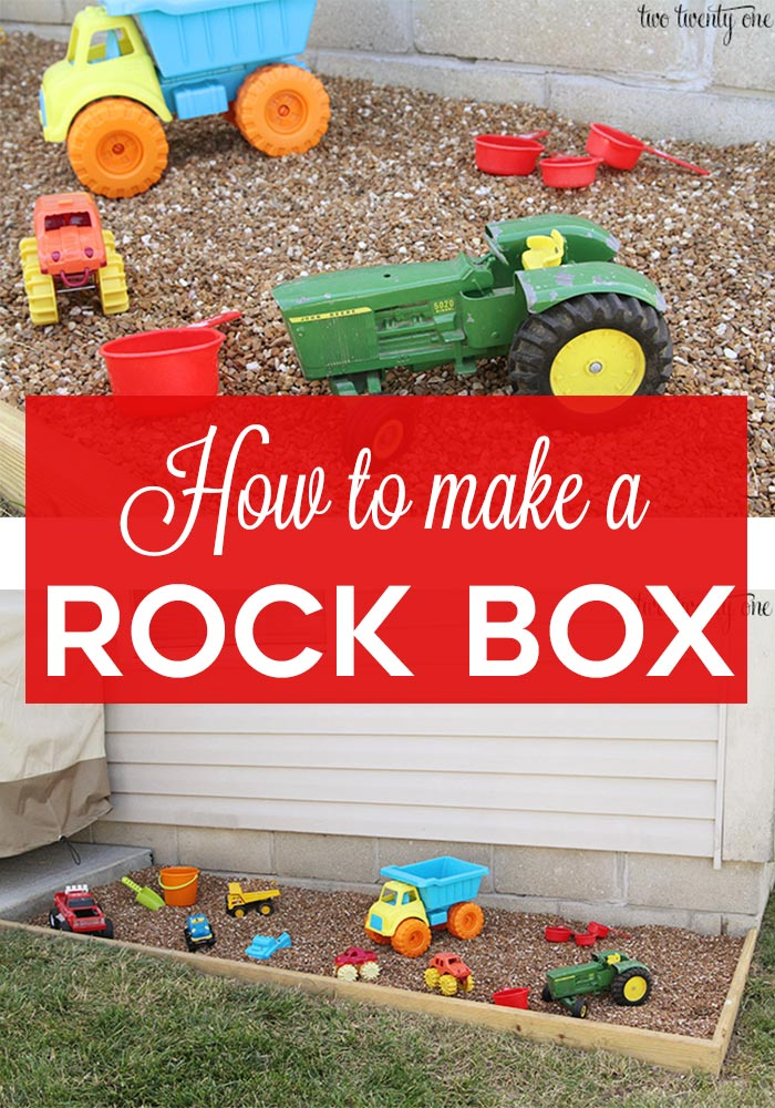How to make a rock box