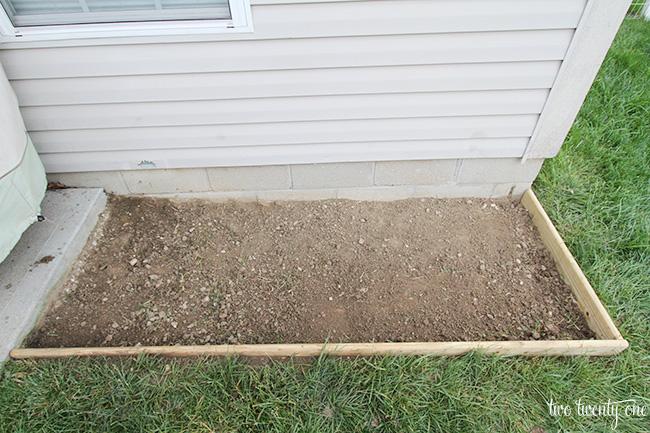 how to make rock sand box 1