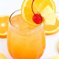 Liquid sunshine cocktail