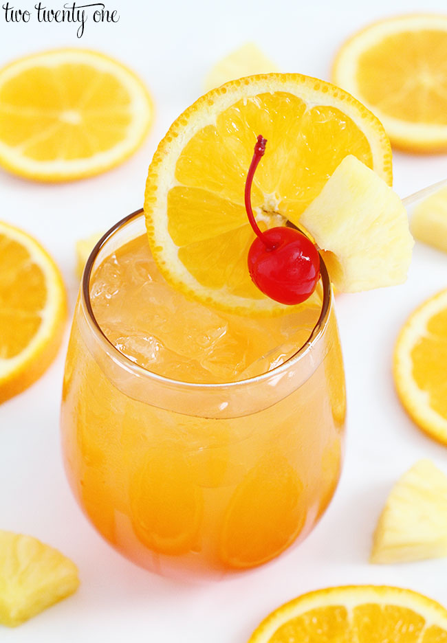 Liquid Sunshine Cocktail