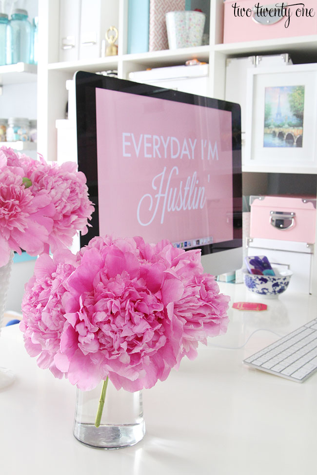 peonies-on-desk