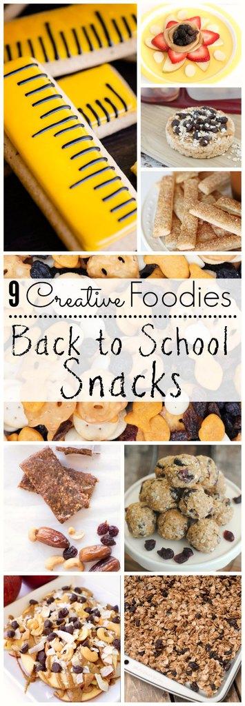 Back to School Snacks #CreativeFoodies