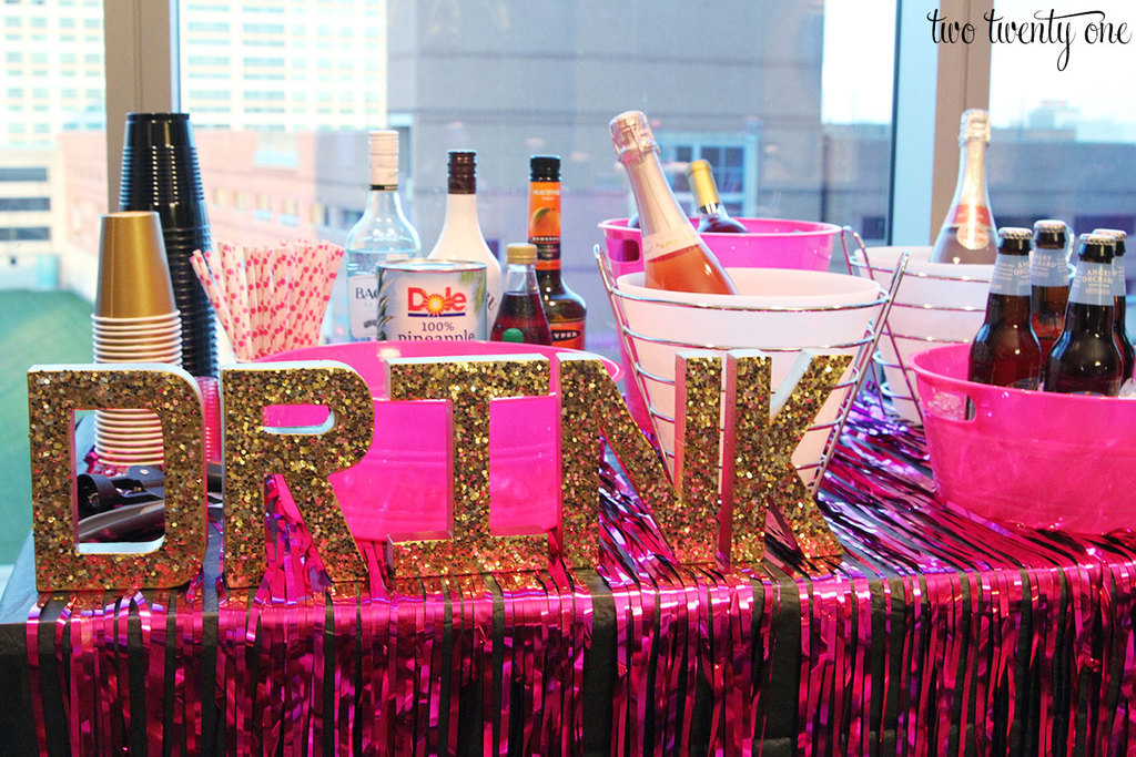 Bachelorette party bar