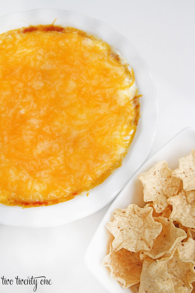 Chili Cheese Dip! Only 3 ingredients and ready in minutes!