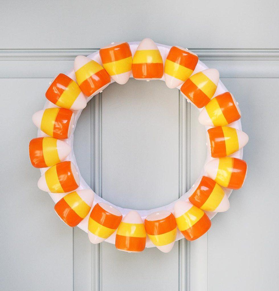 candy-corn-wreath