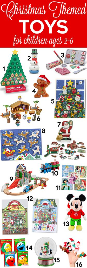 Christmas themed toys for kids!