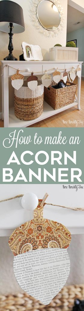 how-to-make-an-acorn-banner