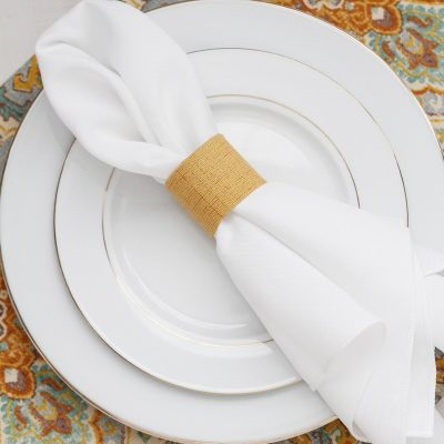 No Sew Placemat And Napkin Ring