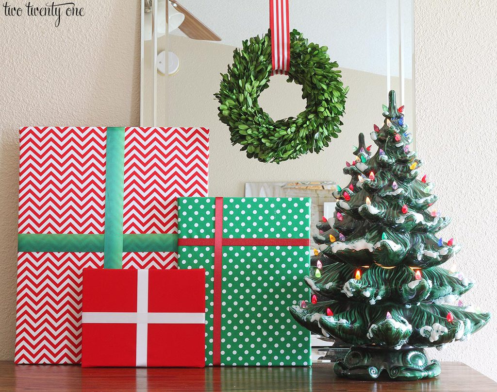 diy christmas present decorations