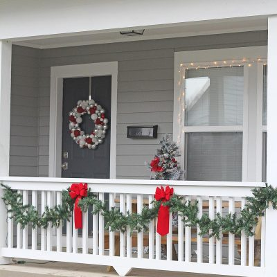Holiday Front Porch with Lowe's & Habitat for Humanity