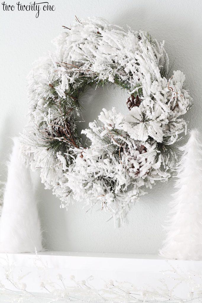 flocked-wreath