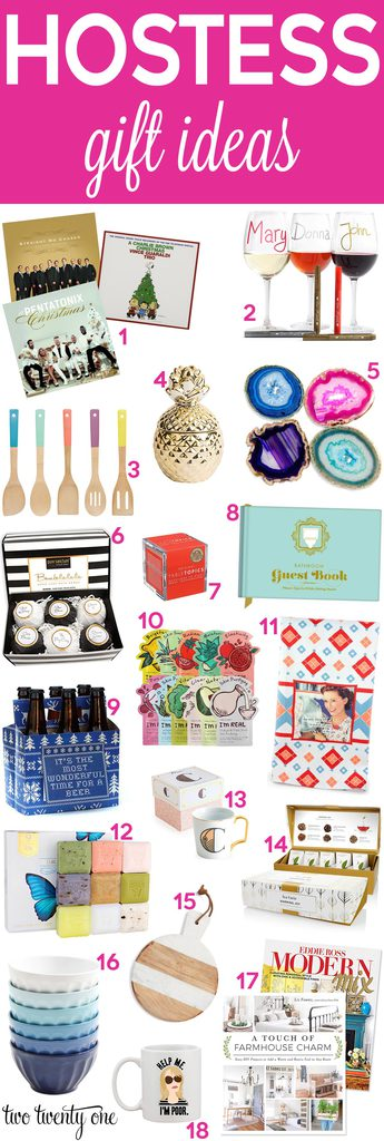 Great hostess gift ideas that won't break the bank!