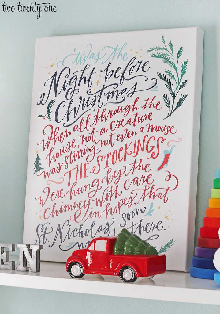 lindsay-letters-night-before-christmas-canvas