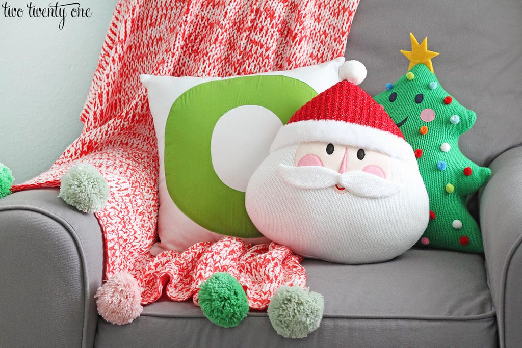 target-santa-and-christmas-tree-pillows