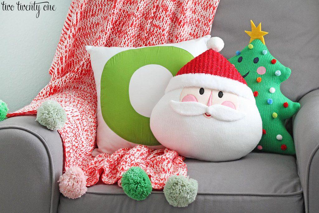 target santa and christmas tree pillows - 19 Unexpected Ways Christmas Pillows Target Can Make Your Life Better