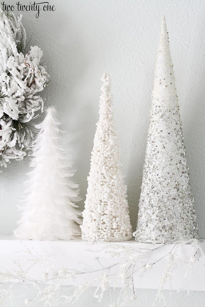 white-christmas-cone-trees-1