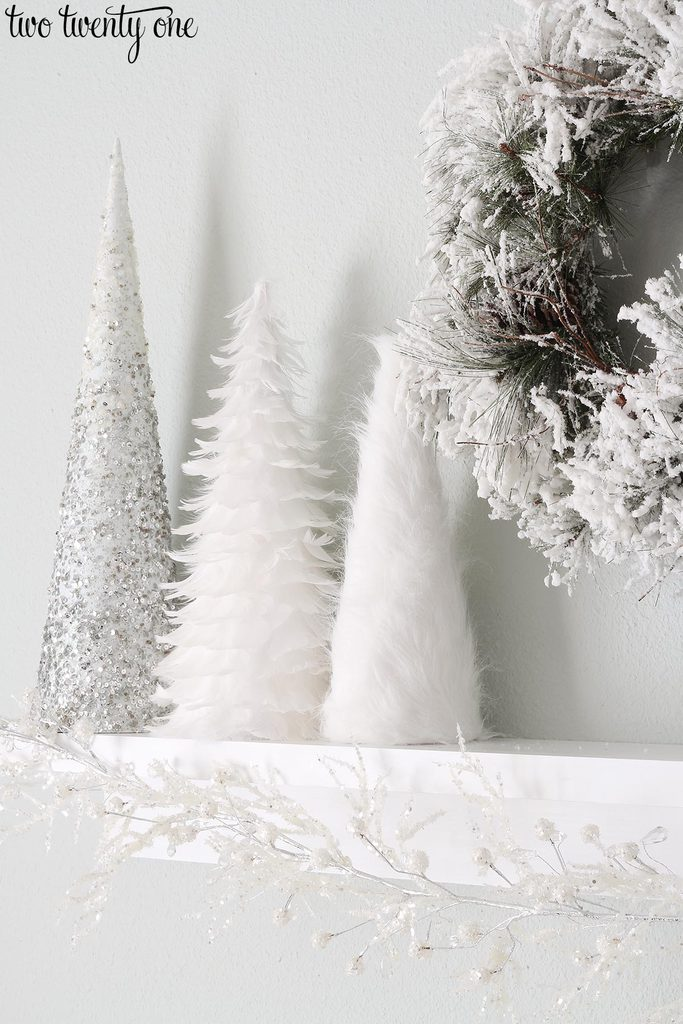 white-christmas-cone-trees-2