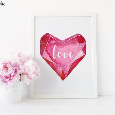 Valentine's Day Print
