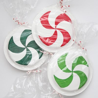DIY Peppermint Decorations