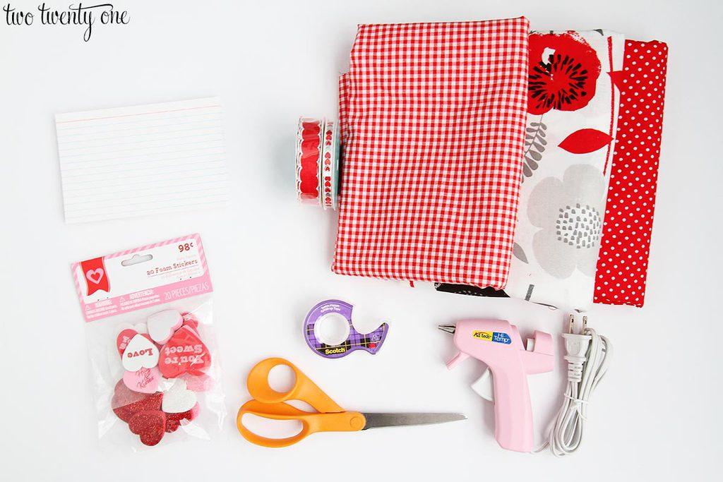 valentines-day-garland-materials
