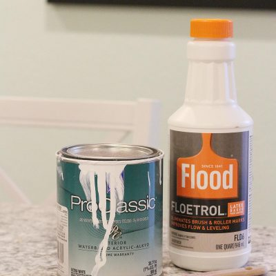 Caulking & Painting Baseboards