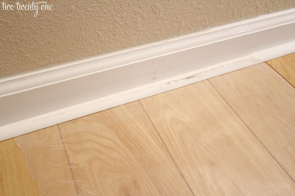Caulking Amp Painting Baseboards