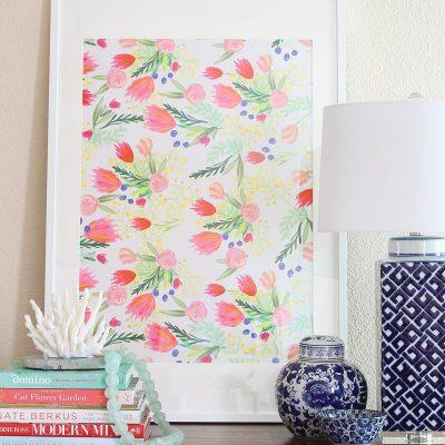 $4 Floral Art