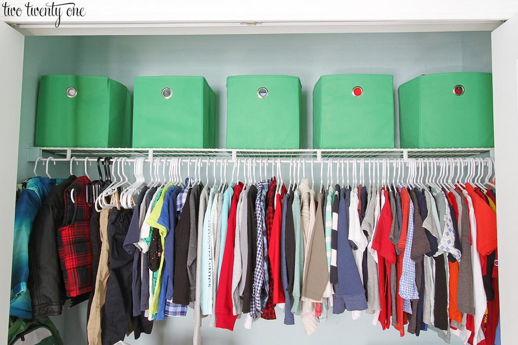 Perfect This Organized Toddler Closet Features Storage For Clothing, Toys, Books,  Diapers, And