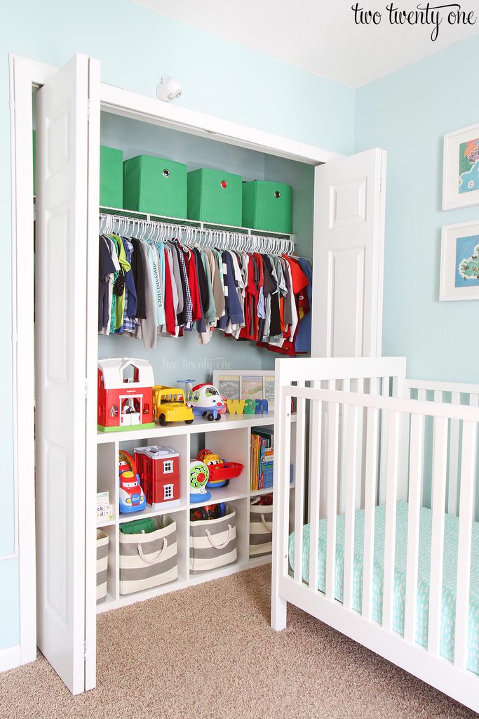 toddler closet organizing ideas