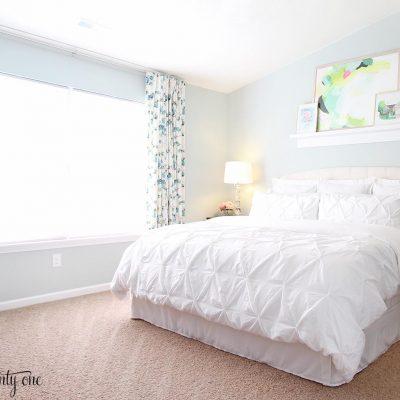 Sherwin Williams Sea Salt – Master Bedroom Wall Color