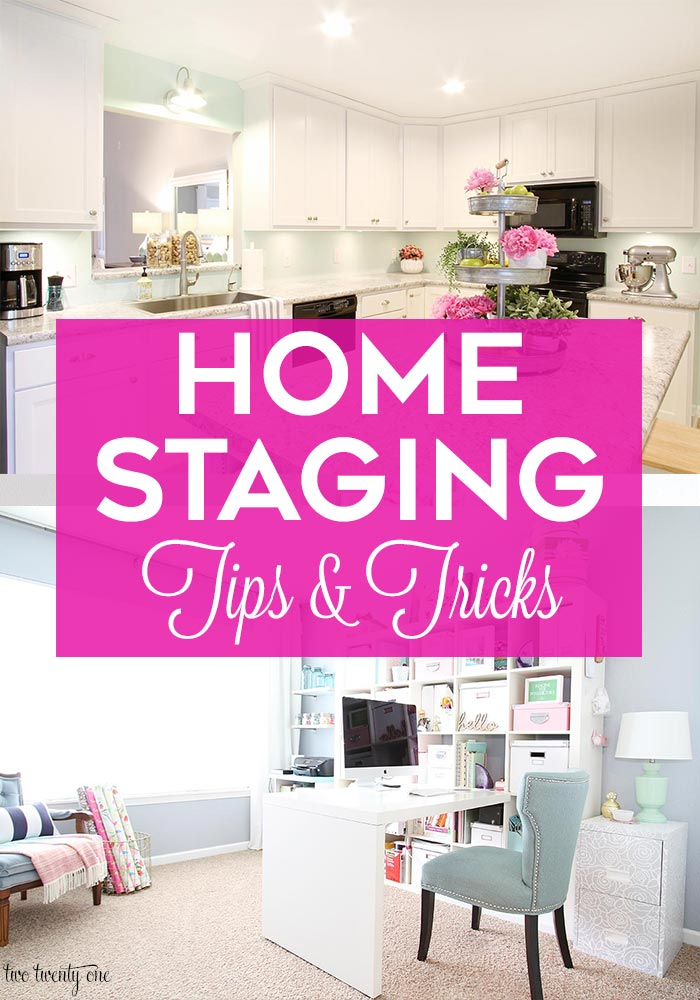 Home staging tips and tricks!