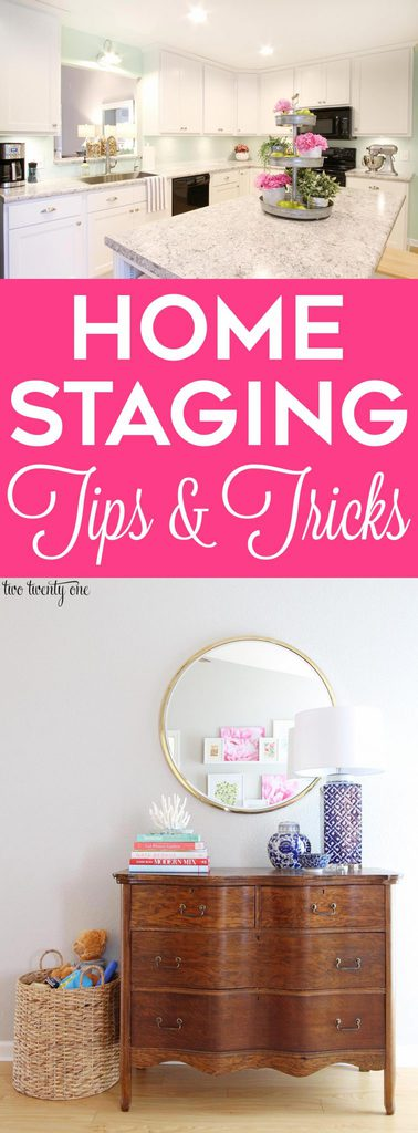 Home staging tips and tricks! Great tips, especially for those with kids!
