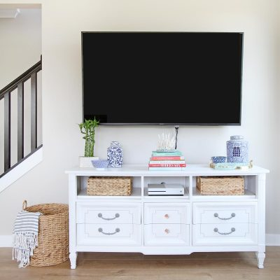 How to Turn a Dresser Into a TV Stand