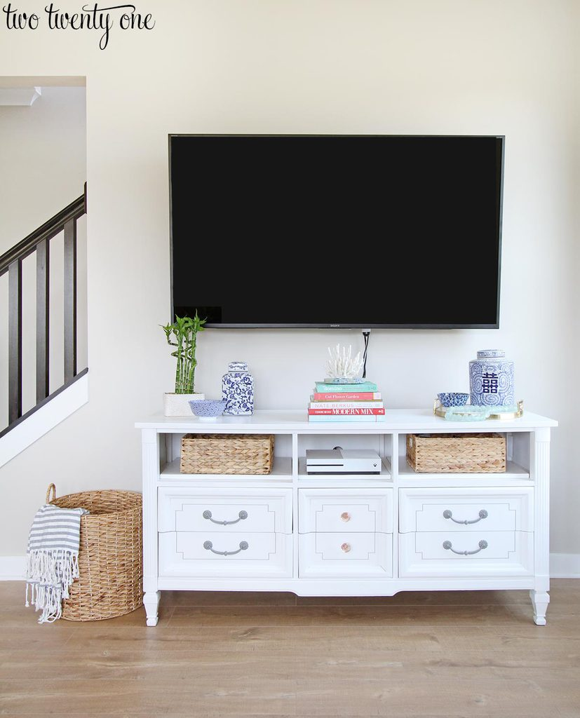 Choosing where to mount a tv - What size tv to get for living room ...