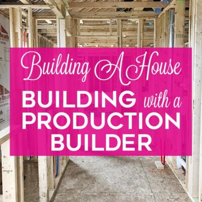 Building a House: Building with a Production Builder