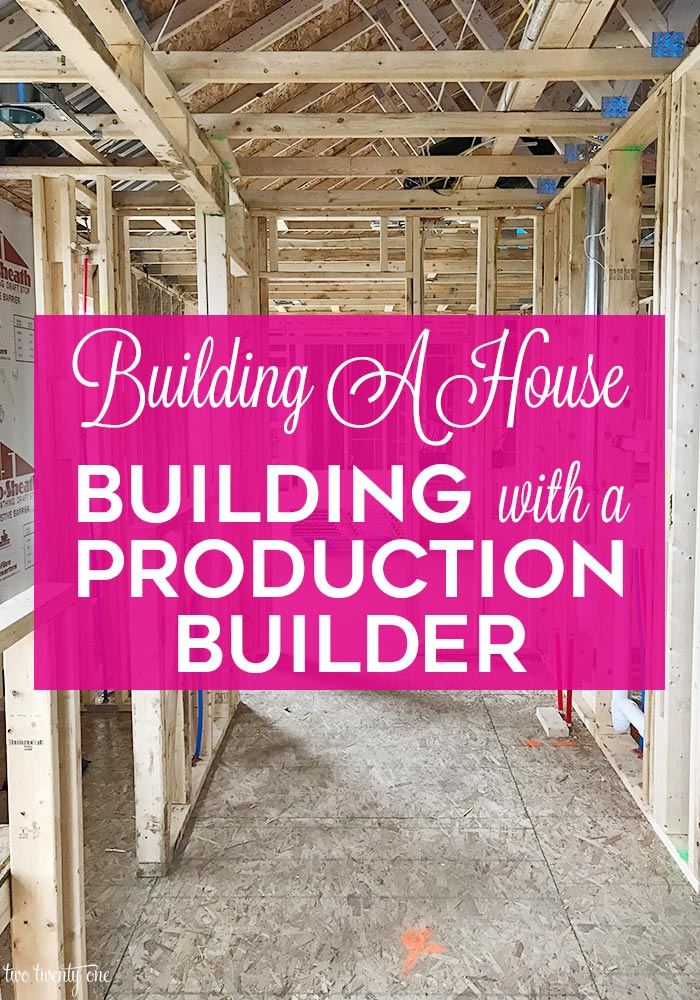 Building with a production builder