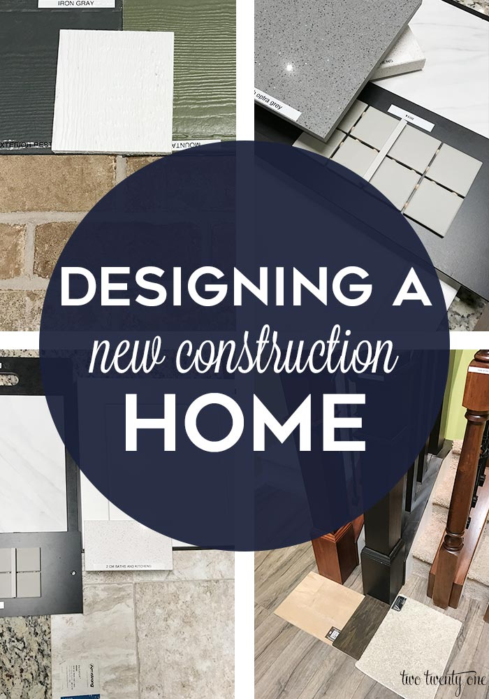 designing a new construction home