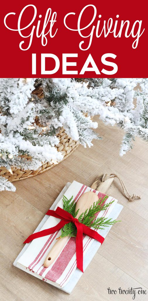 Gift giving ideas for all budgets! Time-saving tips!