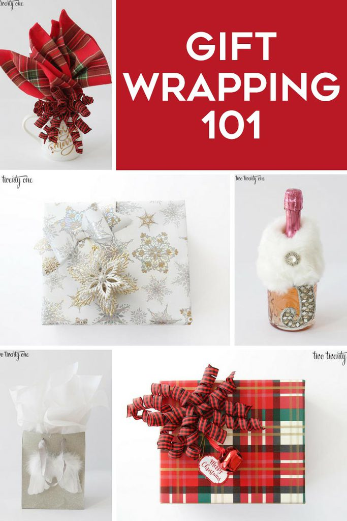 Gift Wrapping 101 -- tips for all!