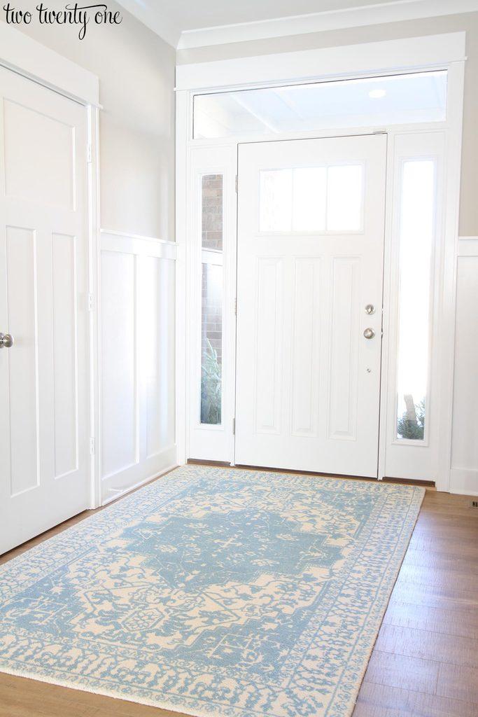 Foyer Rug Winter : Entry way rugs design decoration