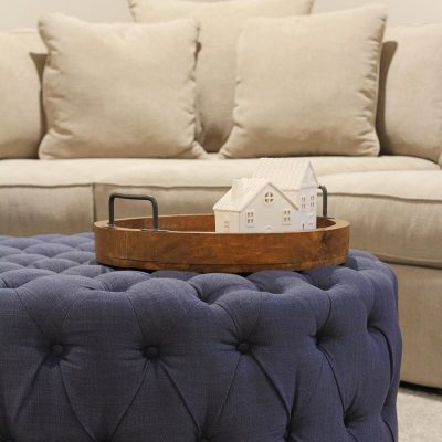 Our Macy's Radley Sectional & Ottoman