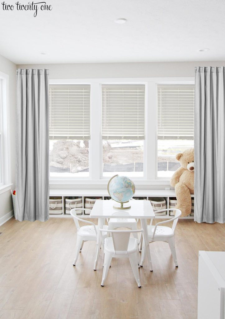 Playroom Window Treatments