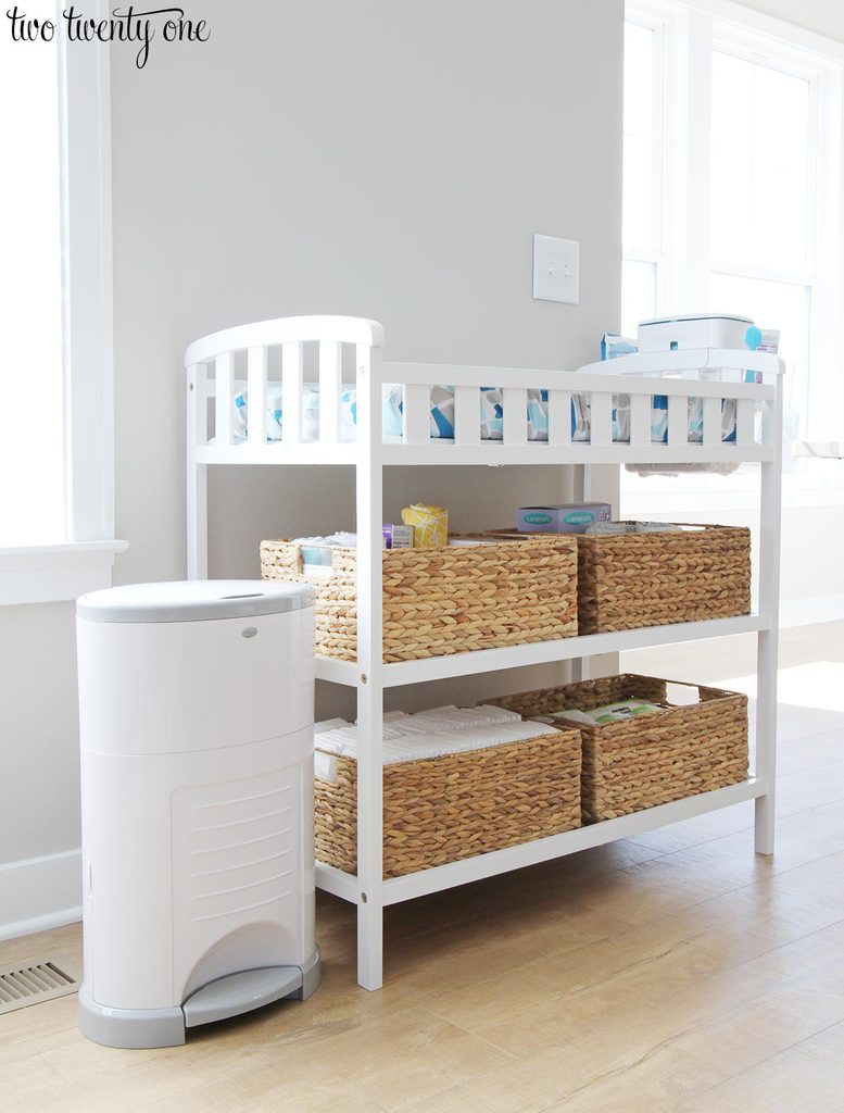 We Love Having This Changing Table On Our Main Floor. I Like How I Can  Still Keep An Eye On Owen While Heu0027s Playing Or Eating Breakfast Or Lunch  If I Need ...