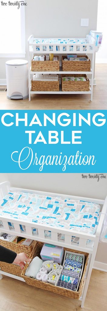 Changing table organization! Great tips and tricks!